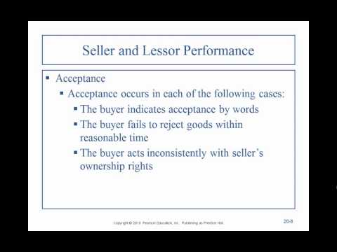 Business Law II - Professor Sharma (Lecture 1, Chapter 20 - 01.31.2015)