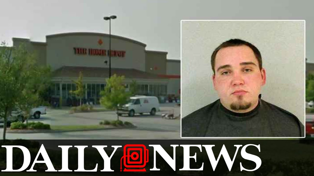Home Depot worker says he was fired for helping police track down suspected kidnapper