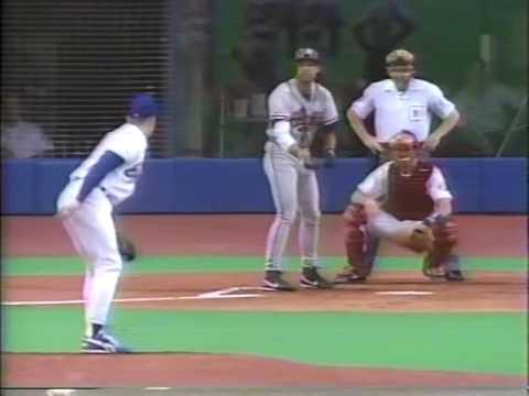 1993 MLB Atlanta vs Montreal June 20