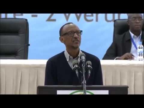 Kagame aratuka abayobozi be mu mwiherero wa 12 wo kuya 1 werurwe 2015