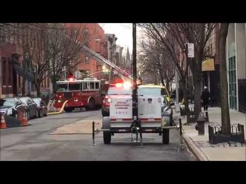 2ND DAY OF FDNY ON SCENE OF 7 ALARM 10-60 MAJOR BUILDING COLLAPSE & FIRE IN MANHATTAN, NYC.