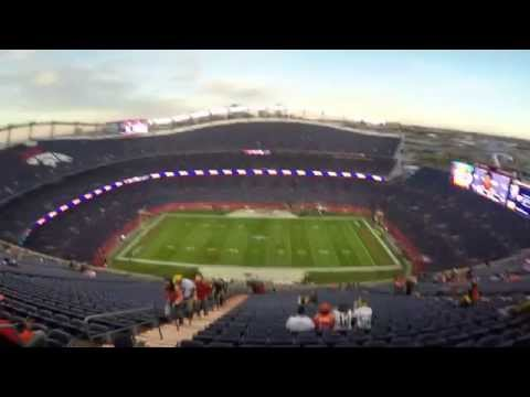 Journey to the Top of Mile High Stadium - A Brief Glimpse of What it