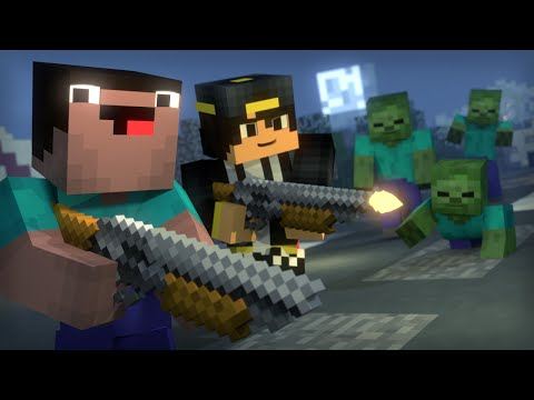Blocking Dead: Part 2 (Minecraft Animation) [Hypixel]