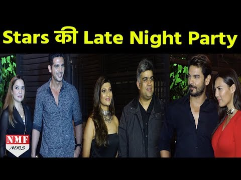 Celebs At TV Producer Siddharth Malhotra's Party | Nia Sharma, Rochelle Rao