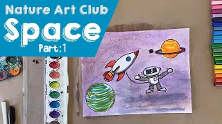 The Corelli Show: Nature Art Club - Space Part 1