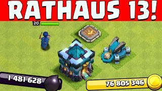 RATHAUS 13 ist da! ☆ Clash of Clans ☆ CoC