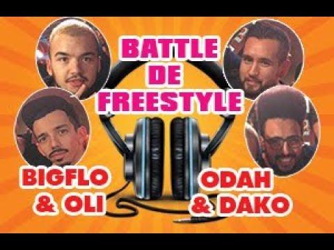 Battle de freestyle Bigflo & Oli face à Odah & Dako - Rico Show Sur Nrj