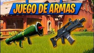 *JUEGO DE ARMAS* Nuevo MODO de JUEGO llegará a FORTNITE: Battle Royale