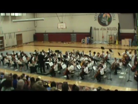 The West Valley Middle School 7th Grade Orchestra Performs the Star Wars Theme (John Williams)