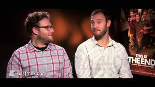 Seth Rogen And Evan Goldberg - This Is The End - Kiss FM (UK)