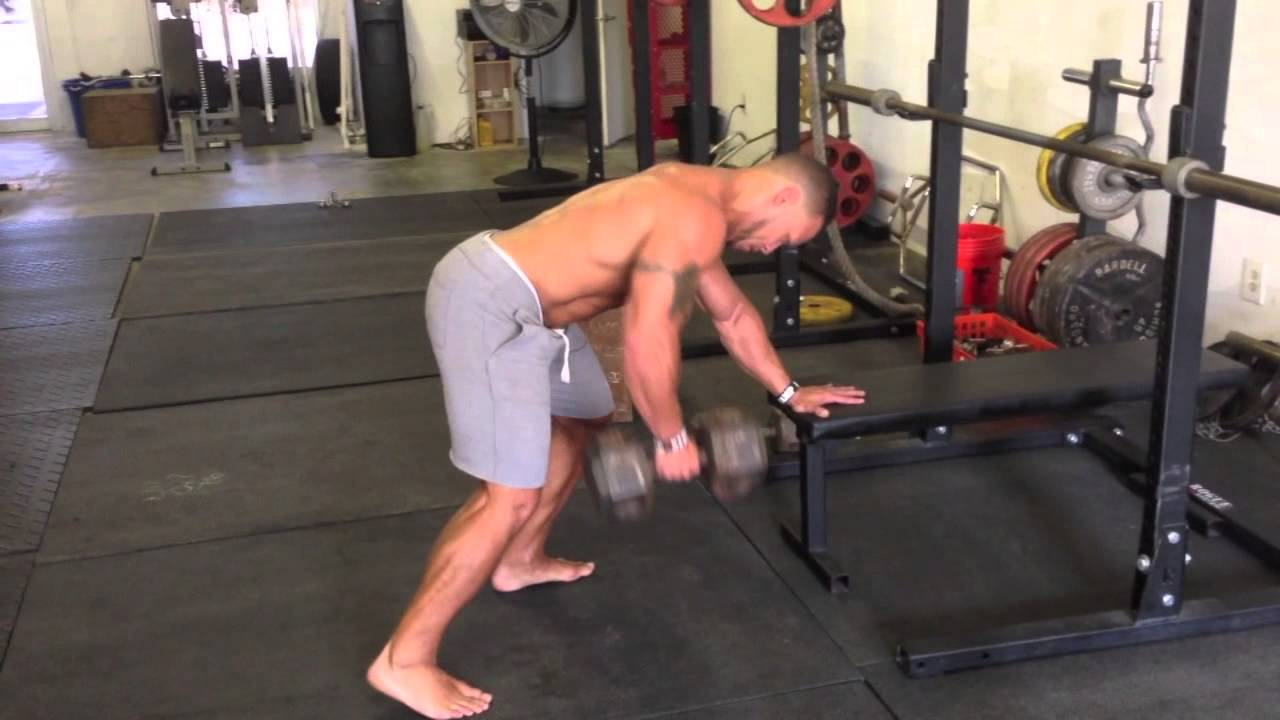 Do this between sets for more energy and less muscular imbalances