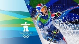 Lindsey Vonn Wins Downhill Gold - Vancouver 2010 Winter Olympics