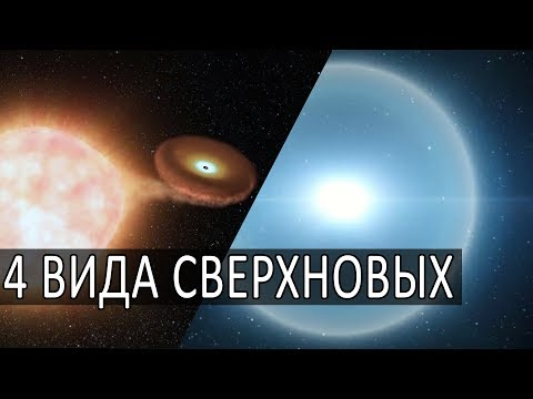 4 ВИДА ВЗРЫВОВ СВЕРХНОВЫХ ЗВЕЗД.  Новое исследование NASA, Анимация NASA Выбросы газов и вещества.