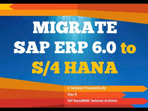 S 4 Hana Migration Scenarios Sap Erp 6 0 To Suite For