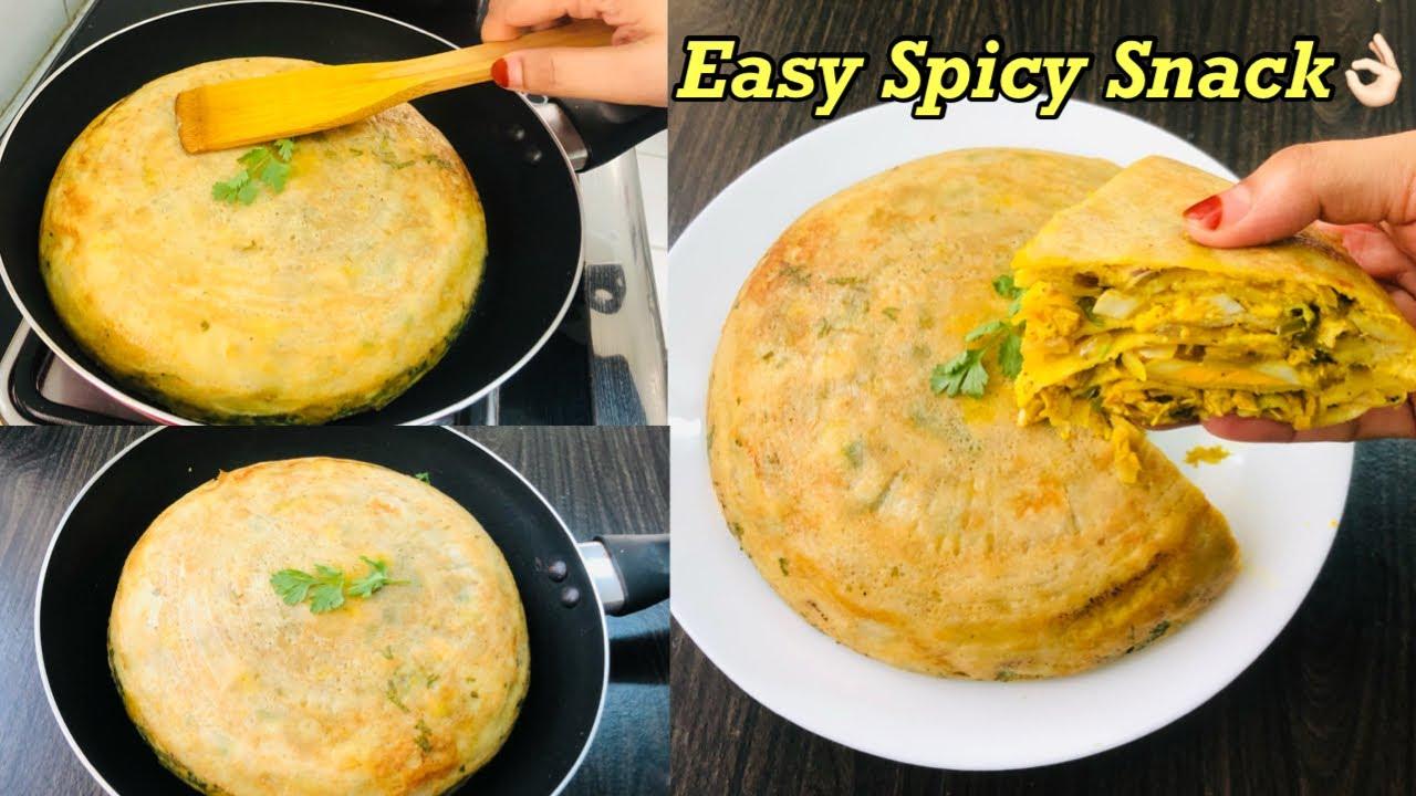 ഇത് ഞമ്മക്ക് പെരുത്ത് ഇഷ്ടം 😋| Spicy 🌶 Malabar Snacks Recipe Malayalam | Chatti pathiri recipe