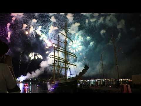 Halifax Tall Ships Regatta Fireworks 2017