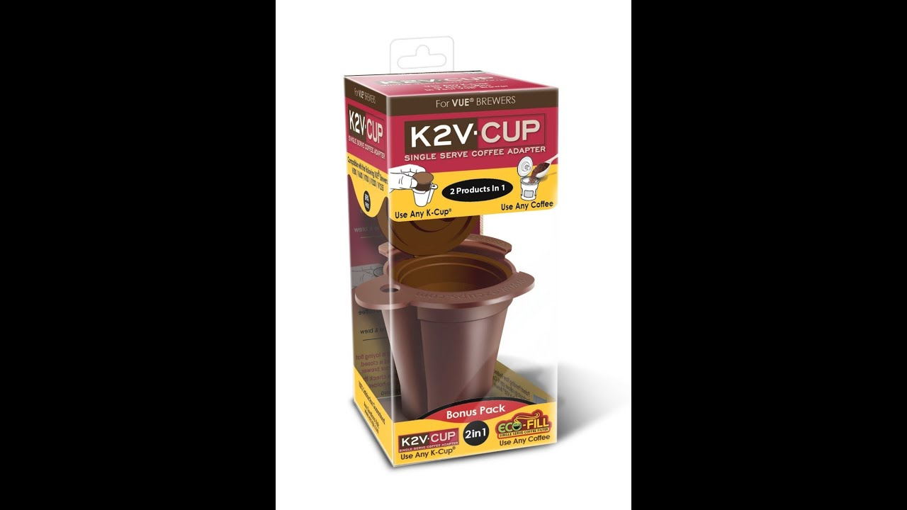 K2v Cup K Cup Adapter And Reusable Filter For Keurig Vue