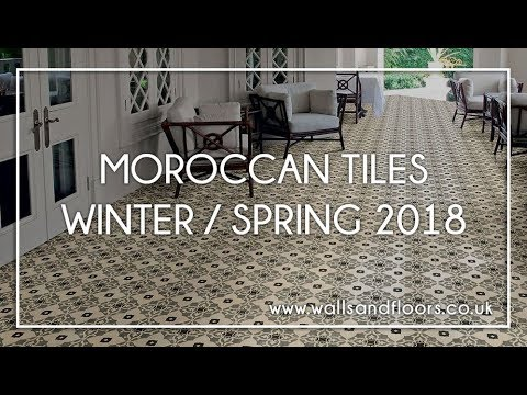 Moroccan Tiles - Winter / Spring 2018
