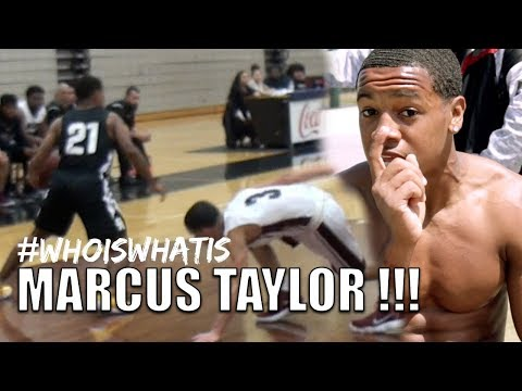 """5'9 Marcus Taylor: Heart Over Height! """"Who Is What Is"""" Episode"""