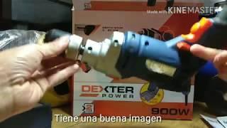UNBOXING TALADRO PERCUTOR ECONÓMICO DEXTER POWER IV900W BRICOLAJE