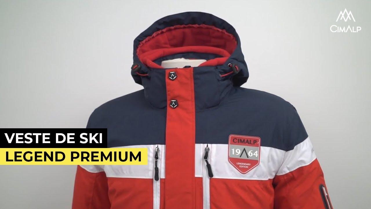 veste de ski homme chaude et l g re legend premium youtube. Black Bedroom Furniture Sets. Home Design Ideas