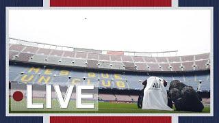 🎙⚽️ Veille de match à Barcelone : Conf de presse et entraînement au Camp Nou 🔴🔵