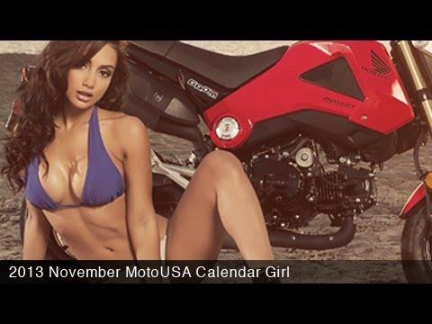 MotoUSA November 2013 Calendar Girl  Brittney