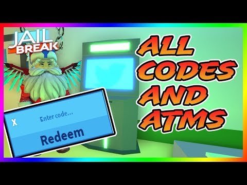 ALL CODES AND ATM LOCATIONS IN ROBLOX JAILBREAK (WINTER UPDATE) | ALL  *WORKING* PROMO CODES
