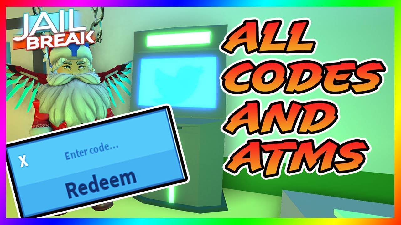All Codes And Atm Locations In Roblox Jailbreak Winter Update