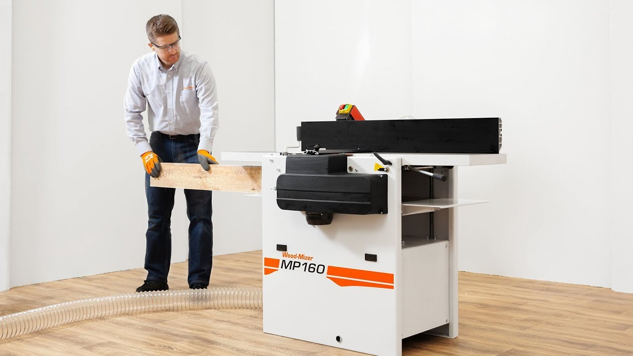 Wood-Mizer MP160 | Two essential workshop tools in one machine!
