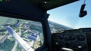 г. Ульяновск в Microsoft Flight Simulator 2020