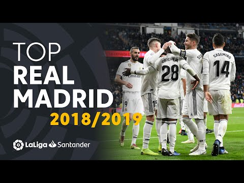 TOP Goles Real Madrid LaLiga Santander 2018/2019