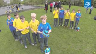 LTV: Stars surprise National School Kids - The Herald Leinster Rugby Summer Camps