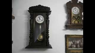 Antiguos relojes a Péndulo de pared