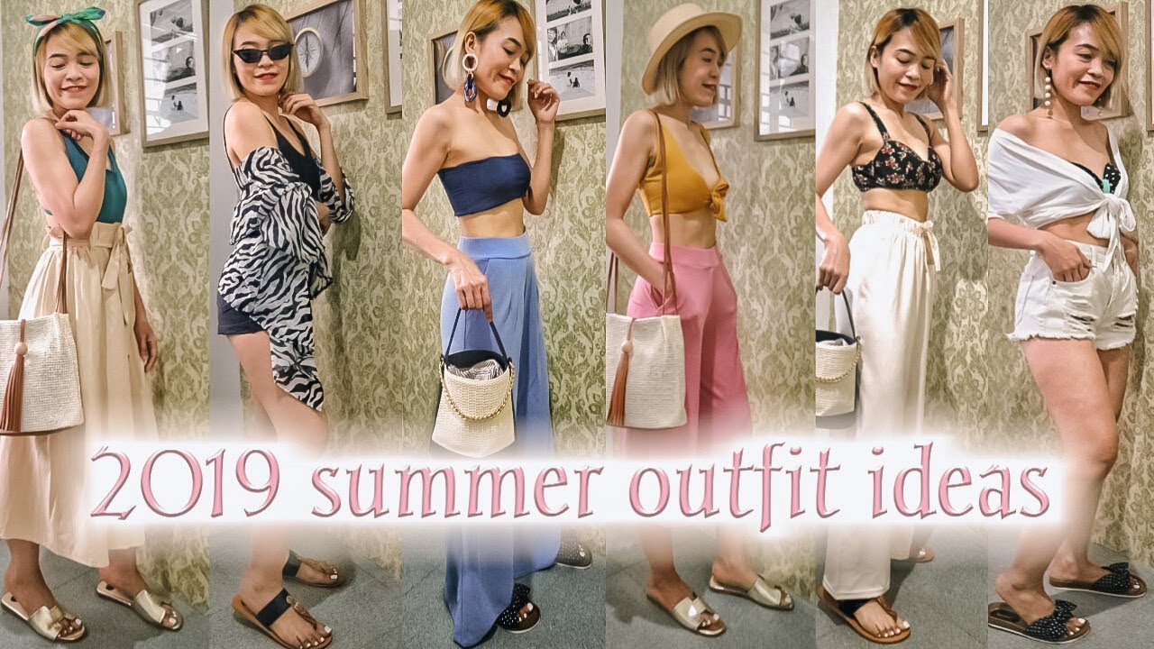 SUMMER OUTFIT IDEAS 2019 | AFFORDABLE SUMMER OUTFIT | BEACH LOOKBOOK