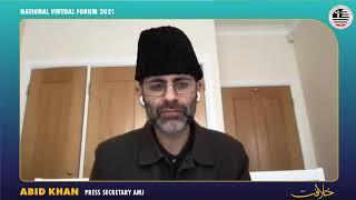 Switzerland 16 05 2021 Muslim Youth held National Virtual Forum Khilafat