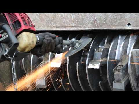 Knives design – DENIS CIMAF's DAH and DAF technologies – Industrial forestry mulcher