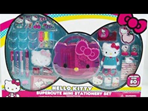Hello Kitty Supercute Mini Stationary Set!