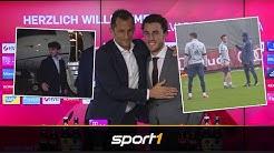 Mit Privatjet zum FC Bayern: So lief Odriozolas erster Tag | SPORT1