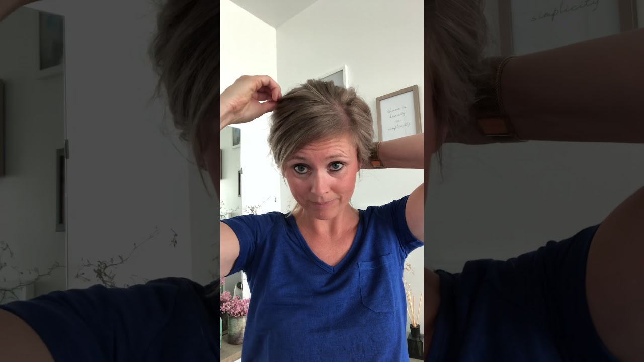 Low bun tutorial