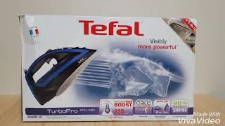 Tefal Turbo Pro FV5648 Iron Unboxing Review Pt 1 | Online Latest Tech Review | Most Powerful