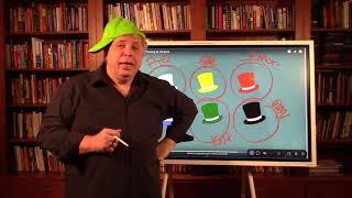 6 mąstymo skrybėlės