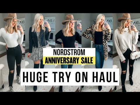 HUGE NORDSTROM ANNIVERSARY SALE TRY ON HAUL 2019