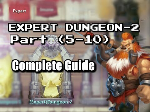 Castle Clash : Expert Dungeon 2 ☆complete Guide ☆without PD