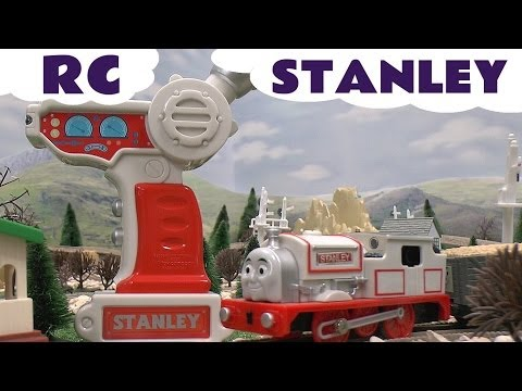Musical Remote Control RC STANLEY Thomas The Train Tomy and Trackmaster Kids Toy Train Set Spotlight