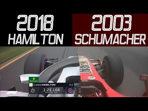 F1 Lewis Hamilton 2018 VS F1 M.Schumacher 2003 AUSTRALIAN GRAND PRIX - QUALIFYING POLE LAP Mp3