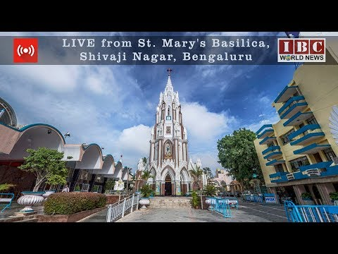 Live_IBC World News_St. Mary's Basilica Festivity_Shivajinagar_Bengaluru