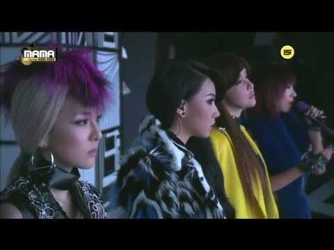 투애니원(2NE1) - Lonely + 그리워해요(Missing You) at 2013 MAMA