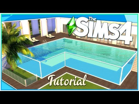Sims 4 Glass Pool Tutorial [No CC!] | Kate Emerald