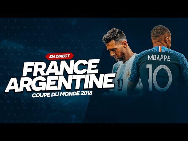 🔴 FRANCE - ARGENTINE (CDM 2018) // Club House Legends